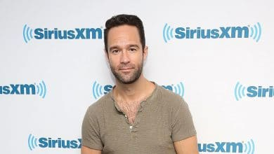 Photo of Chris Diamantopoulos' Height, Net Worth, Wife Becki Newton